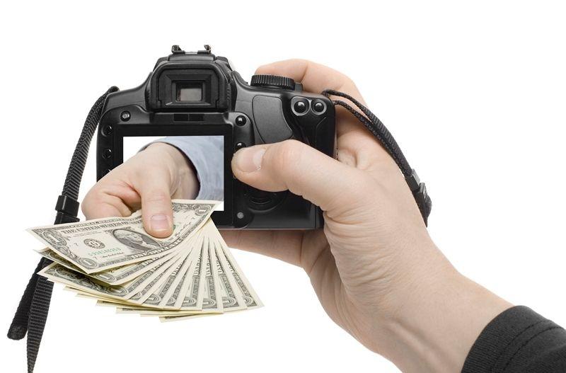 Как заработать на фотографии и картинках.